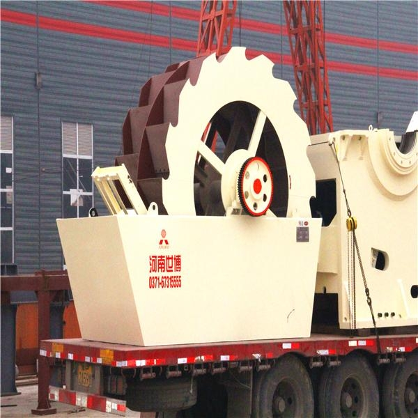 Wheel sand washing machine with high quality and low price 4