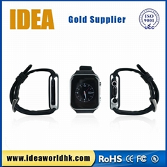 1.54 inch mtk6260 sim mobile android smart watch with camera and bluetooth 3.0