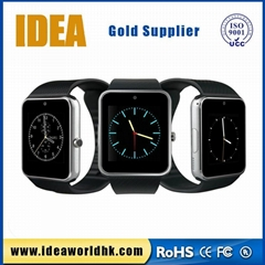 Popular mobile watch phones GT08 promotional gifts  smart watch