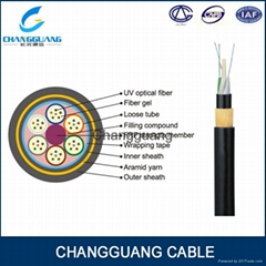 Aerial 12 Core ADSS Multi Mode Fiber Optic Cable