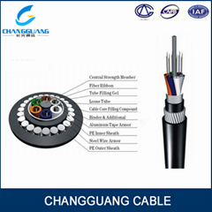 High Quality GYTA33 Submarine armoured 12 core fiber optic cable