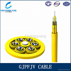 High quality Breakout indoor fiber cable 4core