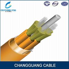 4 core  Indoor multi purpose breakout fiber optic cable