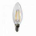 LED Filament Bulb C35 2W 4W-dimmable