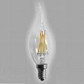 LED Filament Bulb Flame bulb CA35 2W
