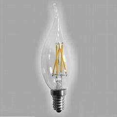 LED Filament Bulb Flame bulb CA35 2W 4W-dimmable