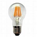 LED Filament Bulb Global A60 A19 2W 4W