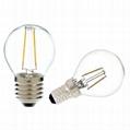LED Filament Bulb mini Global G40 G45 2W 4W-dimmable 1