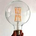 LED Filament Bulb Global 4W 6W 8W 10W 12W 16W-dimmable 1