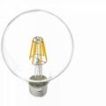 LED Filament Bulb Global 4W 6W 8W 10W 12W 16W-dimmable 3
