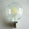 LED Filament Bulb Global 4W 6W 8W 10W 12W 16W-dimmable 4