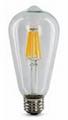 LED Filament Bulb ST64 ST58 2W 4W 6W