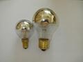 LED Filament Bulb - Half Silver