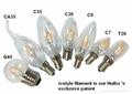 LED Filament Bulb -Patent item-dimmable