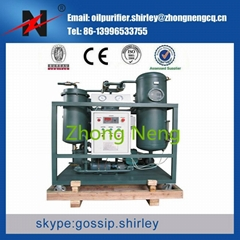 Used Turbine Oil Purifier Oil Cleaning System
