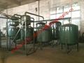 Waste Lubricant Oil Distillation System to Base Oil Machine