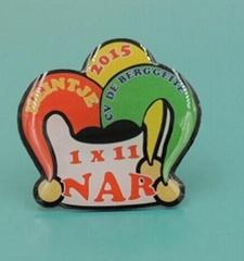 custom cheap epoxy trading lapel pin