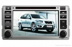 car DVD Player HYUNDAI SANTA FE 2006-2012