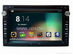 "7"" diginal panel quad core android system two din car DVD player for VW PASSAT"