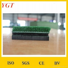 Good quality artificial grass rubber swing mat