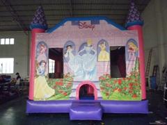 Commercial Grade C4 Princess Inflatable Bouncy Castle