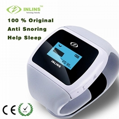 睡無憂變頻按摩助眠智能識別鼾聲止鼾器睡眠儀英凌思廠家批發