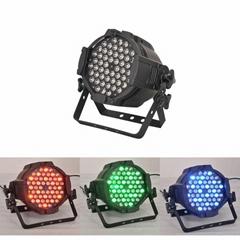 54 3w rgbw led par64 led par light