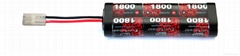 China Manufacturer NI-MH 7.2v 1800mah NIMH Battery Pack Rechargable Battery