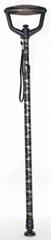 Adjustable walking cane