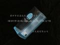 深圳東莞 PP PVC PET 塑料透明彩色包裝方膠盒 6