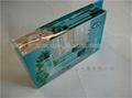 深圳東莞 PP PVC PET 塑料透明彩色包裝方膠盒 2
