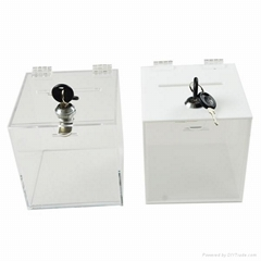 acrylic ballot boxes_yiwu anchuang