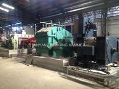 Skew rolling mill