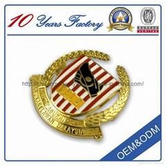 Factory price custom metal badge (cxwy-b01)