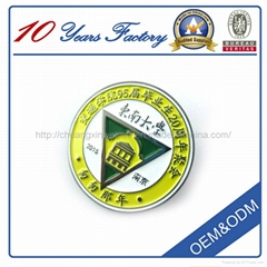 High Quality Promotion Custom Metal Craft Badge