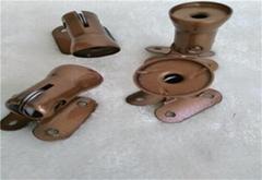 Metal plating green ancient color processing