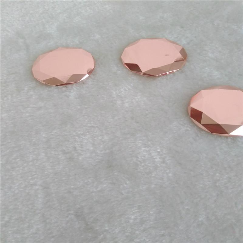 鑫鸿得表面处理电镀玫瑰金加工 4