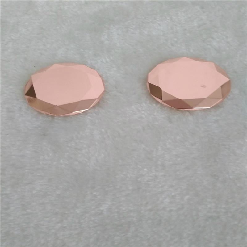 鑫鸿得表面处理电镀玫瑰金加工 2