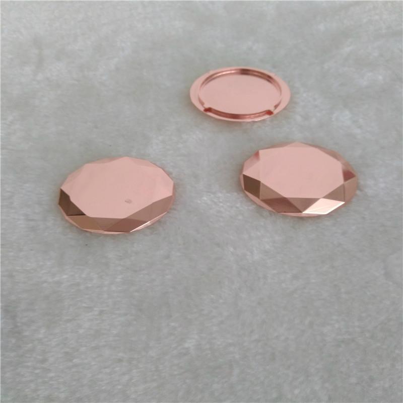 鑫鸿得表面处理电镀玫瑰金加工 1