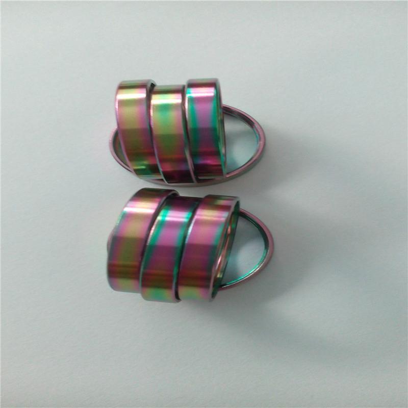 五金电镀彩色加工   电镀炫彩加工 3