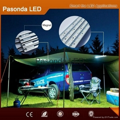 Outdoor emergency Led camping strip kit for outdoor night car repair with magnet
