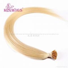 Keratin Hair I Tip Nail Hair Brazilian Human Hair Extension