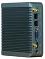 Intel Celeron J1900 Fanless Industrial Computer With Rich IO: Dual Lan SIM HDMI 3
