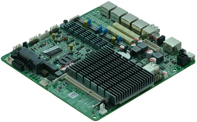 Intel J1900 MITX Fanless Firewall Motherboard for Network Security Application 1