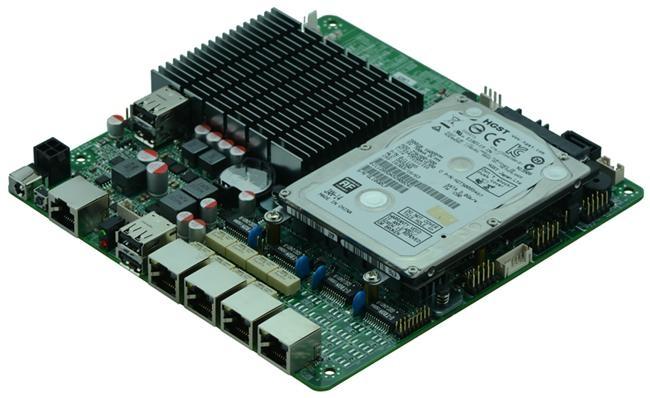 Intel J1900 MITX Fanless Firewall Motherboard for Network Security Application 2
