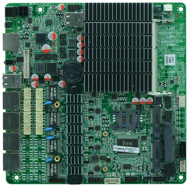 Intel J1900 MITX Fanless Firewall Motherboard for Network Security Application 3
