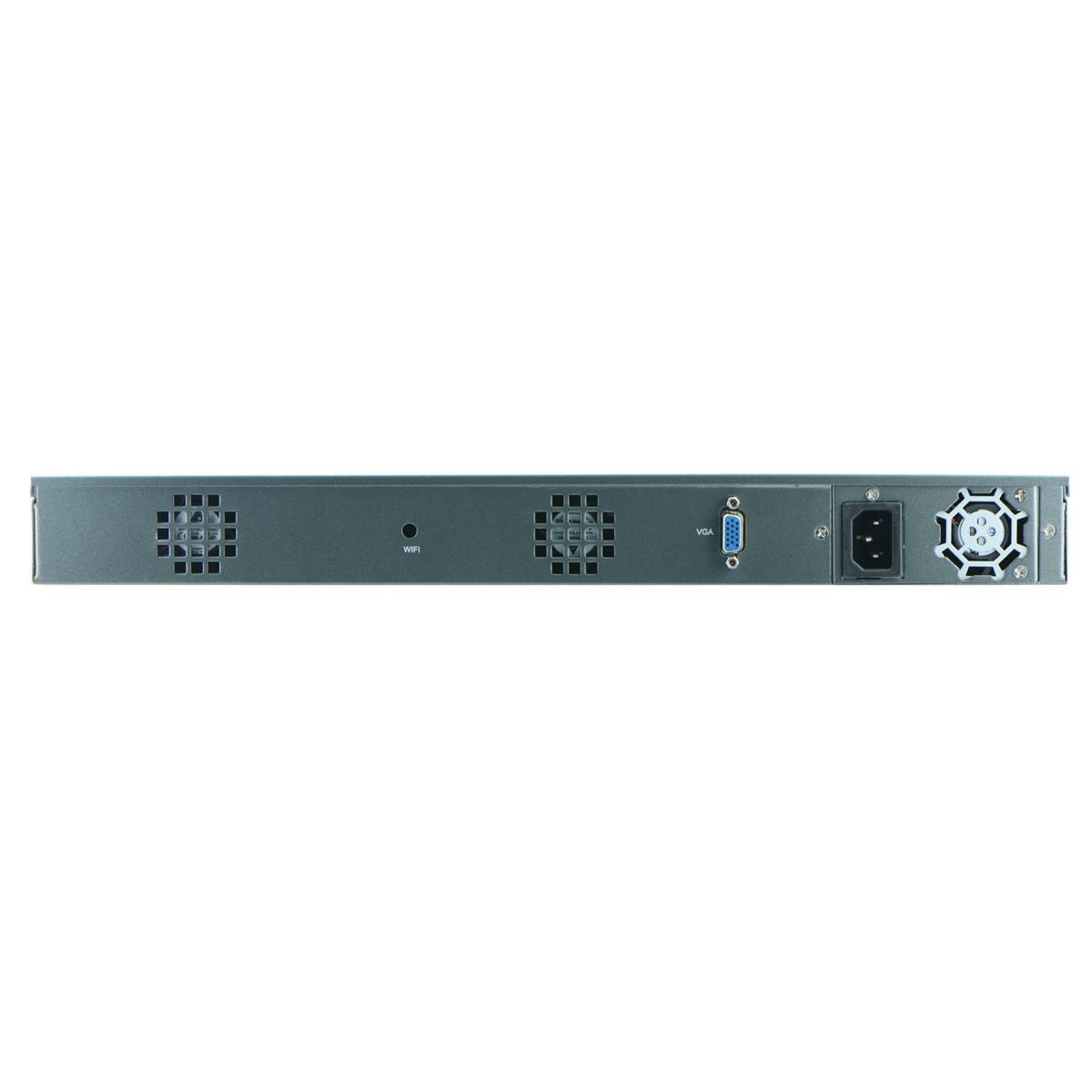 1U B75 Industrial Rackmount Barebone for Network Security 6 Nic SFP 3