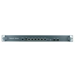 1U B75 Industrial Rackmount Barebone for Network Security 6 Nic SFP