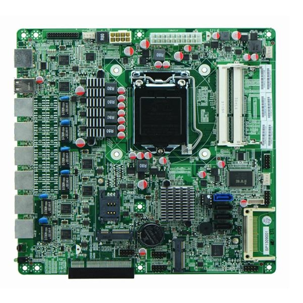 Intel B75 Based Firewall Motherboard for Network Security Application 6Nic SFP 1