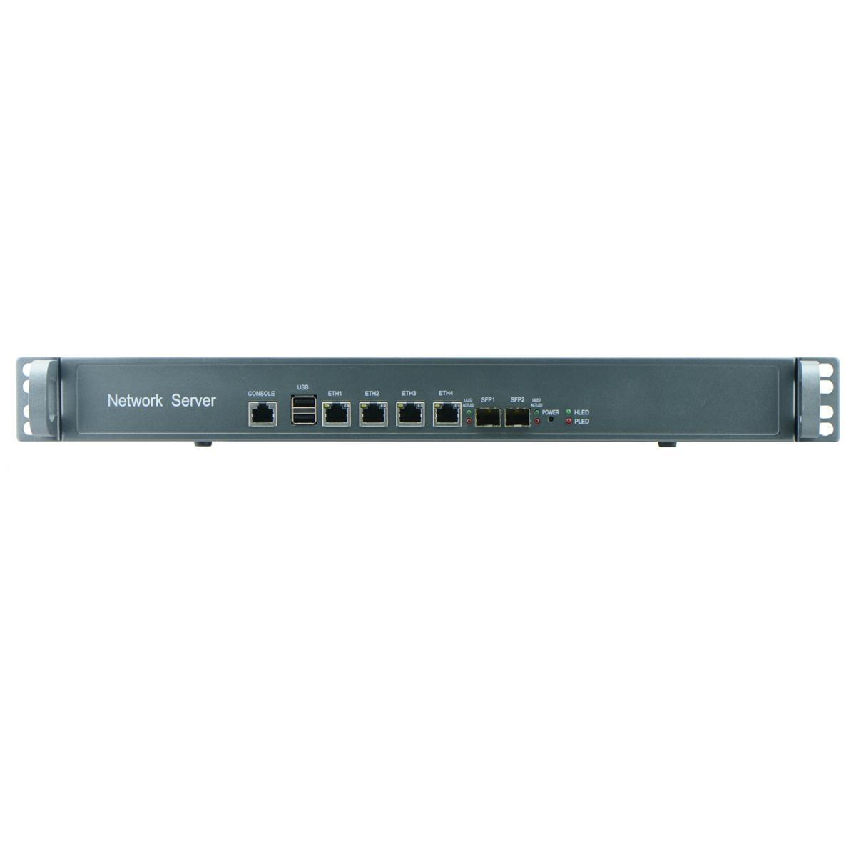 Intel Celeron C1037U 1U Rackmount Barebone for Network Security Application with 1